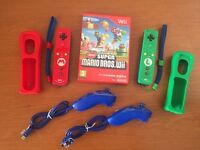 Rate Mario & Luigi controllers witch New Super Mario for WII + Nunchucks
