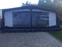 Bradcot classic touring caravan awning