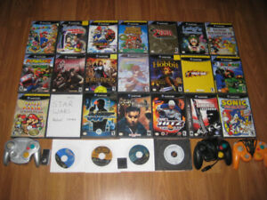 GAMECUBE GAMES ( Play on Wii Too )