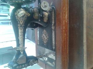 1886 singer sewing machine