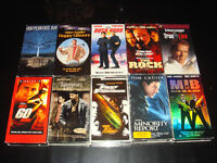12X VHS-ACTION-FILMS/MOVIES (ANGLAIS/ENGLISH)