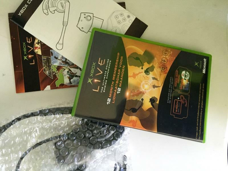 Original Xbox Live Starter Kit Contact James Gardner
