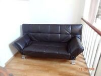 Relaxateeze Claudia Leather Sofa Bed