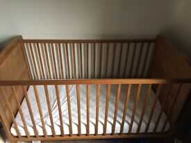 Cot bed barely used