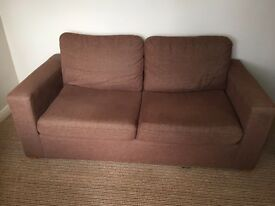 Next sofa bed brown