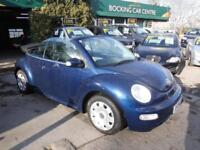 Volkswagen Beetle 1.6 2004 CONVERTABLE ELECTRIC ROOF EXCELLENT,