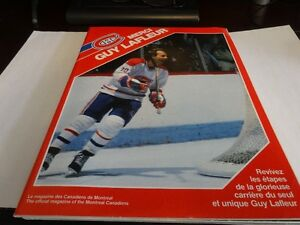 "Montreal Canadiens magazine ""Merci Guy Lafleur"""