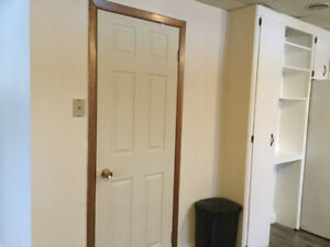 Bright apartment,  one bedroom plus a den.
