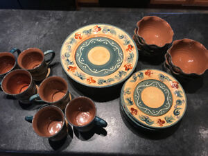 Nanette Vacher's hand painted Provence Collection