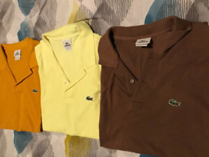 Lacoste polo shirt size 6 or XL