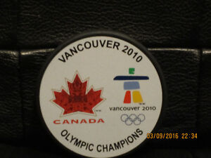 Vancouver  Olympic puck
