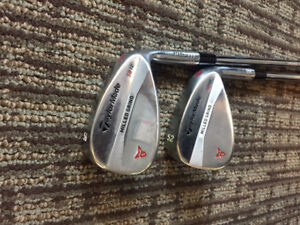 52 & 56 degree TaylorMade Wedges