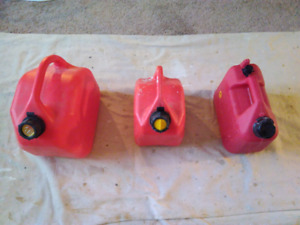 3 Jerry Cans, $30 for all