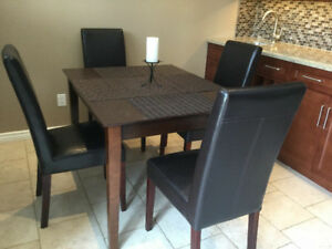 Bonded Leather Dinning Chairs