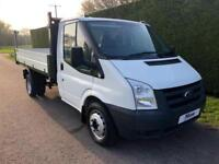 2011 61 FORD TRANSIT T350 TDCI 115PS ONESTOP TIPPER * 40000 MILES * CHOICE OF 3