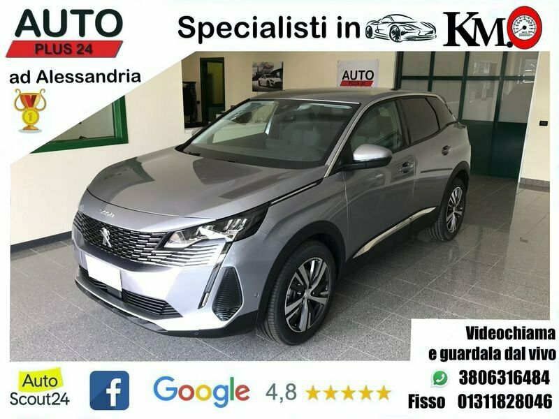 Peugeot 3008 Blue HDi 130 EAT8 S&S Allure KM 0, IN PRONTA CONS