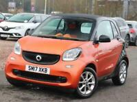 2017 smart fortwo 1.0 Passion 2dr Auto City-Car Petrol Automatic
