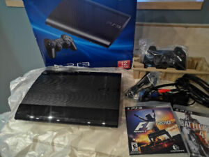 PS3 Console 12GB - Boxed (used once)