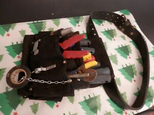 ELECTRICIAN TOOL BELT & TOOLS