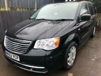2012 (62) Chrysler Grand Voyager 2.8 CRD Automatic LX 5dr Black ( 7 Seater )