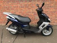 Sinnis Matrix II 125 learner legal own this scooter for only £10.87 a week