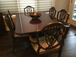 Antique Dining Room Set - Henry Steul & Sons