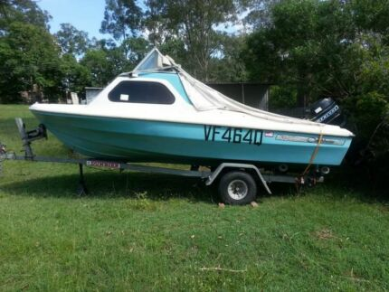 Boat n trailer PRICE DROPPED!! Cedar Vale Logan Area Preview