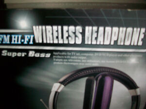 4-in-1 Super Boss Wireless Headphone Cambridge Kitchener Area image 2