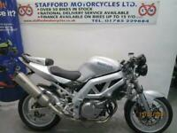 SUZUKI SV650-S.ONE OFF STREETFIGHTER. STAFFORD MOTORCYCLES LIMITED