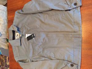 "New! Quicksilver grey ""Billy"" jacket men's size medium Kitchener / Waterloo Kitchener Area image 2"