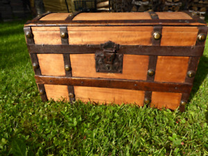 Antique Refinished Trunk