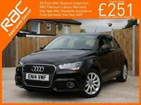 2014 Audi A1 1.2 TFSI Sport 5 Door 5 Speed Bluetooth DAB Air Conditioning 16in A