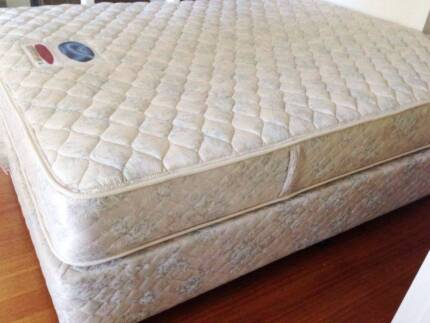 Quality SEALY Queen ENSEMBLE Mattress + Base can Deliver