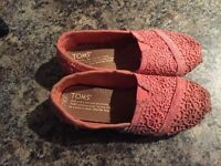 Size 12 girls toms for sale