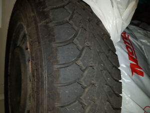 Goodyear Nordic winter tires 215/65r16 for sale