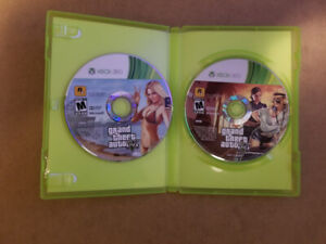 GTA 4 & GTA V for Xbox 360 $5 Each