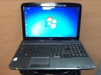 Acer Fast HD Laptop (Kodi) 320GB, 4GB Ram, Dual-Core, Windows 7, office, Excellent Condition