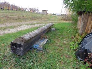 poutre de bois 20 pieds