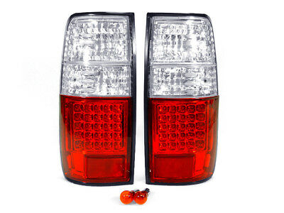 1997 Lexus Lx450 Light - Crystal Red/Clear LED Tail Light Set for 91-97 Toyota Land Cruiser / 96-97 LX450