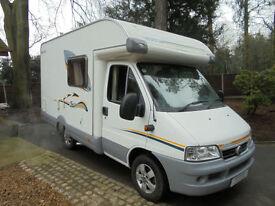 Swift Suntor 530LP compact low line 2 berth end kitchen camper van for sale