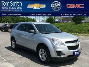 2012 Chevrolet Equinox LS   - Certified - BLUETOOTH -  CRUISE