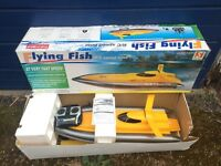 Flying fish R/C speed boat