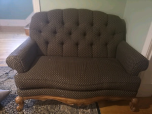 Victorian two seater sofa