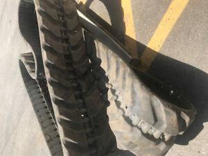 Track de rubber pour John Deere 60G