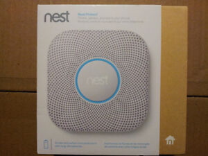 Nest Protect Smoke + Carbon Monoxide Alarm, 2nd Gen (Battery)