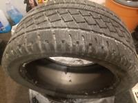 Single pirelli 255 40 17 winter tire like new