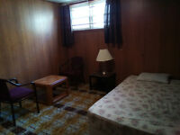 A Large Room: Fully furnished; amenities included $400