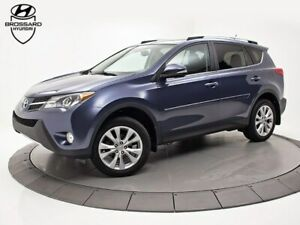 2013 Toyota RAV4 Limited CUIR CAMÉRA TOIT OUVRANT
