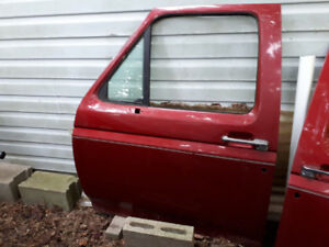 2 Ford doors