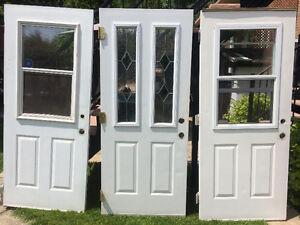 Porte extérieur isolé en acier